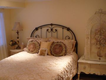 Lower Level guest bedrooms -one of four beautifully decorated bedrooms