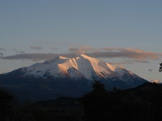 Carbondale apartment photo - Mount Sopris in all its glory