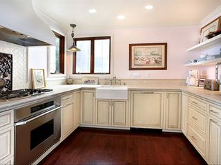Laguna Beach house photo - French style kitchen with high end appliances plus walk-in pantry