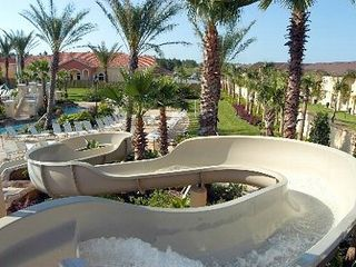 Regal Palms townhome photo - Waterslide, hot tub...