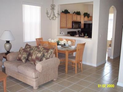 Open planed kitchen, living and dinning room
