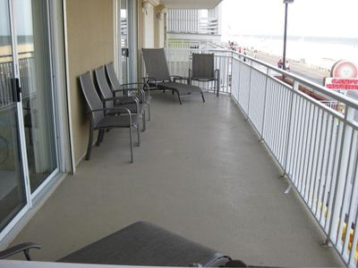 View of Balcony with access from Master Bedroom and Living Room