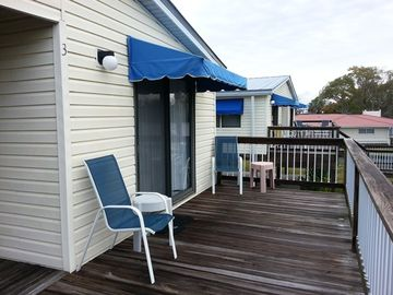 Homosassa cabin rental - Balcony