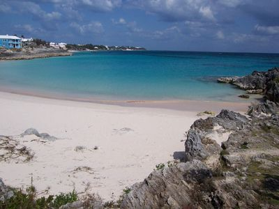 Bermuda cottage rental - John Smith's Bay (looking East)