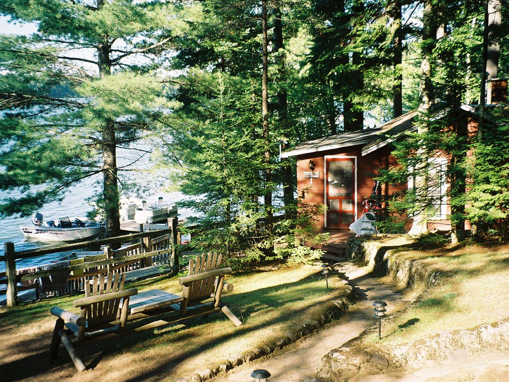 Lakefront Northwoods Wisconsin Cottage Homeaway St