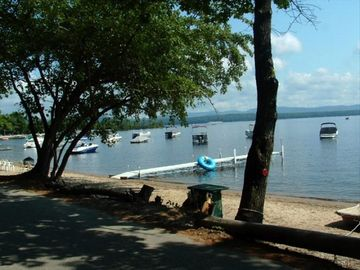 Center Ossipee cottage rental - Private Beach, Dock & Mooring