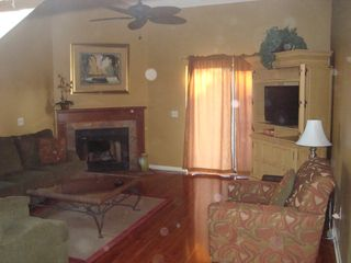 Orange Beach townhome photo - Fireplace!
