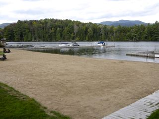 Lake Placid condo photo - Awesome Sandy Beach