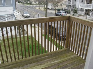 2nd floor Deck. - Wildwood condo vacation rental photo
