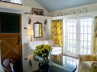Branford house photo - Separate apartment LR great room antique dutch door Views of Long Island Sound