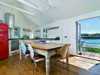 Farthings Kitchen with fabulous views