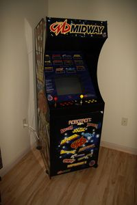 Old School Stand-Up Arcade Machine