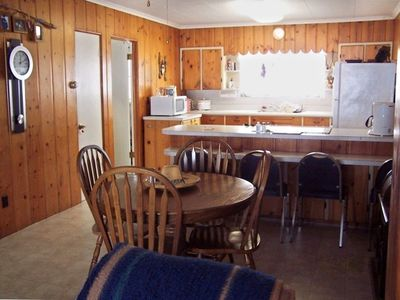 kitchen and dining room is combine