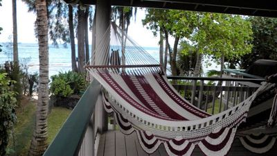 Another great hammock to listen to the  tropical ocean sounds