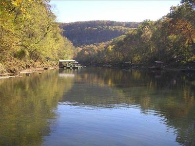 LITTLE RED RIVER RETREAT with PRIVATE BOAT DOCK on 2.5 ACRES-Secluded