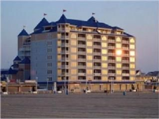 Belmont Towers Ocean City condo photo - Building from the Beach!
