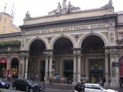 Arena del Sole, Bologna's most famous theater, is right across the street.
