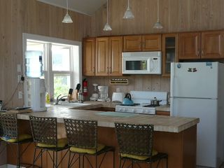 Elbow Cay and Hope Town house photo - Full kitchen with bar seating