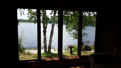 The Point at Ocqueoc - Quiet Ocqueoc Lakefront Two Bedroom Cottage