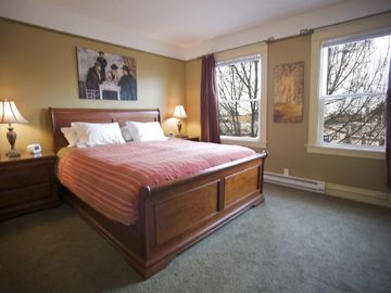 Master Bedroom has California King Bed.