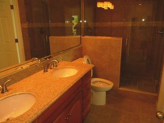Osage Beach villa photo - walk in glass/tile shower