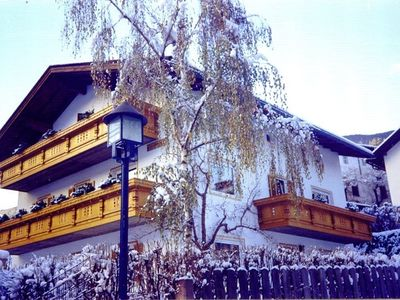 St. Ulrich house rental - Rabanser house in winter