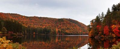 Lake Logan in the Fall