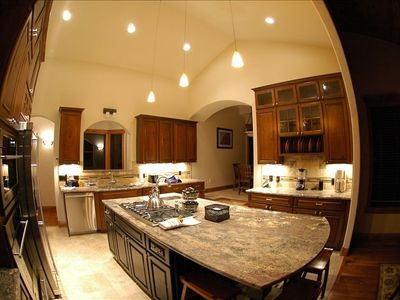 Highlands Retreat fully equipped gourmet kitchen