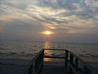 Cape May house photo - Delaware Bay sunset