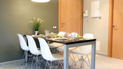 Well equipped apartment in central Barcelona