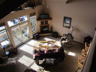 Frisco townhome photo - Living room in late afternoon sun, shot from second floor loft