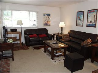 Aspen condo photo - Large, open living area