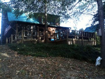 Greers Ferry Lake cabin rental - View From River