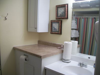 Blue Water Resort condo rental - Bath Room