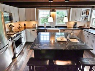 Edgartown house photo - Large Chef's Kitchen Is Fully Equipped For Entertaining