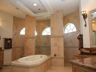 Vacation Homes in Marco Island house photo - Master Suite with huge shower.
