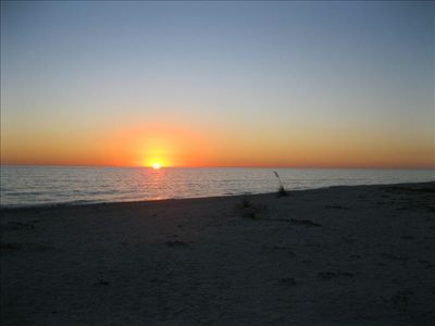 Sunset on Sanibel