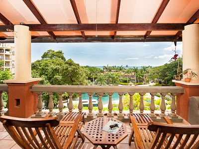 .Long balcony provides a great spot for to relax and watching sea and sunsets