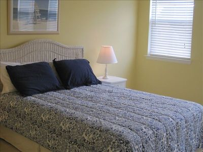 Queen Size Bed in Large Upstairs Bedroom, Large Closet