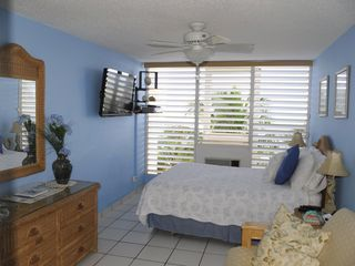 Luquillo condo photo - Master Bedroom with 42' Flatscreen TV