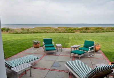 Edgartown estate rental - Ocean-View From The Patio