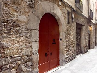 Barrio Gotico apartment photo - Cultural heritage entryway, 18th century building.
