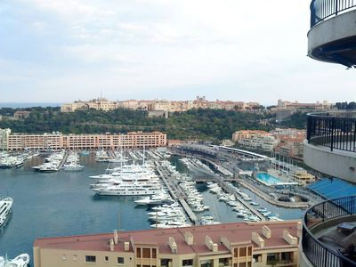 MONACO, EXCEPTIONAL VIEW PORT AND 'CIRCUIT FORMULA 1', GRD STANDING BUILDING