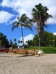 Kayak, surf, scuba, snorkel, dive, swim, play, relax at Kam 111 beach.