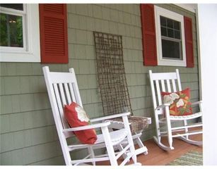 Bridgton house photo - front porch
