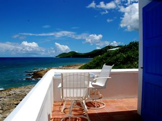 St. Croix villa photo - Sitting on the balcony with a Caribbean view