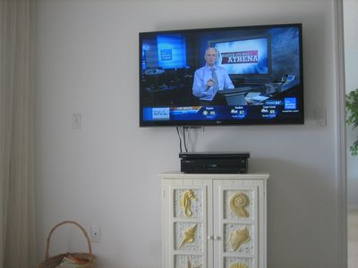 Living Room hi def TV + DVR + DVD