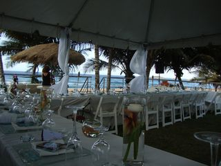 Arecibo villa photo - Beautiful beach front wedding arrangements ! Done by our Great Staff...