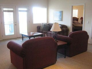Hot Springs Village house photo - Downstairs Living Room Area with view into 2nd Guest Bedroom