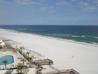 The View From Our Condo Is The Gulf Of Mexico - Watch the Dolphins Go By!!